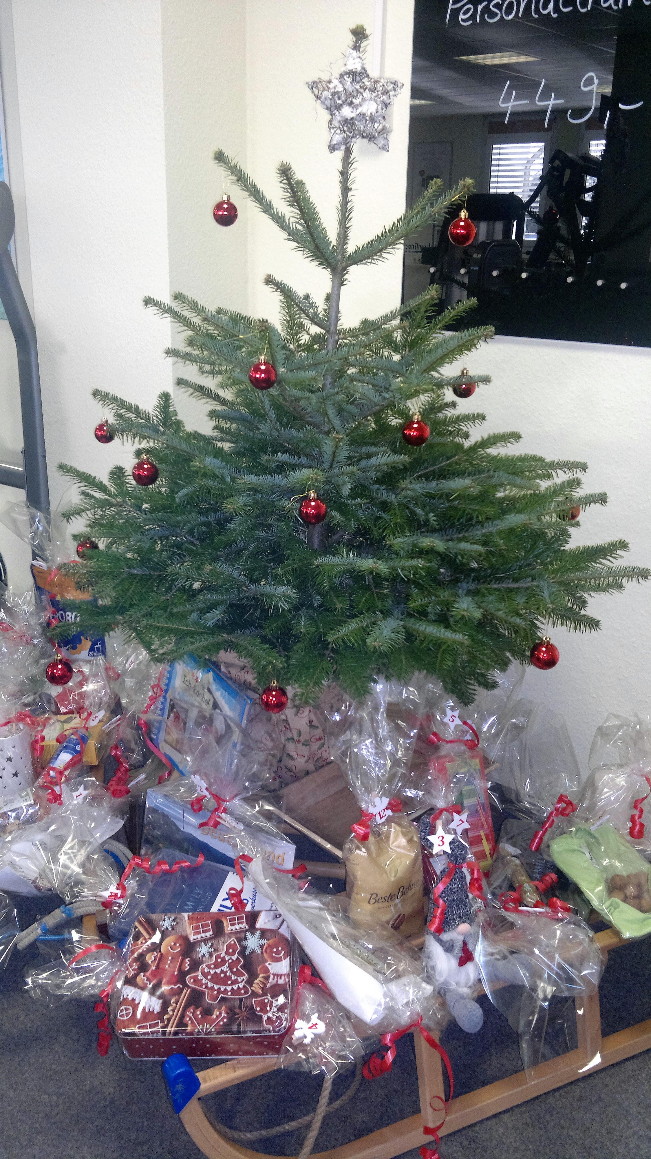 Weihnachten-Zeit des Schenkens
